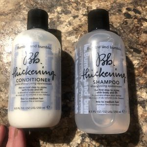 Bumble & Bumble NEW Thickening Shampoo & Condition